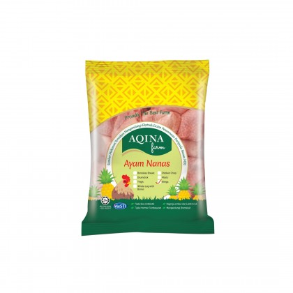 Aqina Pineapple Chicken Skinless Boneless Thigh 6pcs/pkt