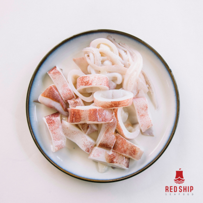 Red Ship Squid Ring 150g